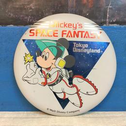 Disney TDL Space Fantasy Button/ディズニー 東京ディズニーランド スペースファンタジー 缶バッジ/171013-6