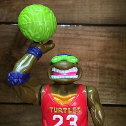 TURTLES Slam Dunkin' Don Figure/タートルズ スラムダンキン・ドナテロ フィギュア/180826-4