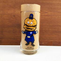 McDonald's Big Mac Police Collecter Glass/マクドナルド ビッグマックポリス コレクターグラス/180112-