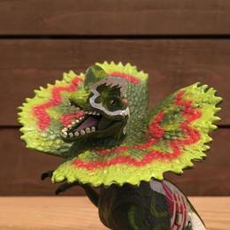 JURASSIC PARKⅢ Re-ak A-tak  Dilophosaurus Figure/ジュラシックパーク 3 リアーク・アタック ディロフォサウルス フィギュア/180626-4