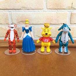 Disney Town Square Friends Cinderella & Pooh Set/ディズニー タウンスクエアフレンズ シンデレラ&プーさんセット/171116-14
