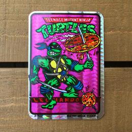 TURTLES Card Sticker/タートルズ ステッカー/170618-11