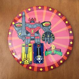 POWER RANGERS Megazord Button/パワーレンジャー メガゾード 缶バッジ/170819-1