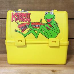 THE MUPPETS Kermit Plastic Lunchbox/マペッツ カーミット プラスチック ランチボックス/170621-8