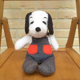 SNOOPY? Bootleg Snoopy Dog Plush/スヌーピー? スヌーピー風 犬 ぬいぐるみ/170901-4