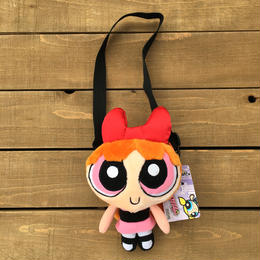 POWERPUFF GIRLS Blossom Mini Plush Pouch/パワーパフガールズ ブロッサム ぬいぐるみポーチ/170607-9