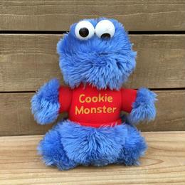 SESAME STREET Cookie Monster Plush/セサミストリート クッキーモンスター ぬいぐるみ/170411-19