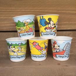 Disney Mickey and Friends Bathroom Cup [6~10]/ディズニー ミッキー&フレンズ バスルームカップ [6~10]/170331-2