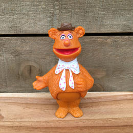 THE MUPPETS Fozzie Stick Puppet/ザ・マペッツ フォジー ミニドール/161227-7