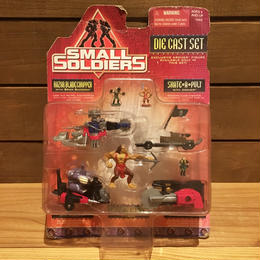 SMALL SOLDIERS Die Cast Set Figure/スモールソルジャーズ ダイキャストフィギュアセット/180108-5