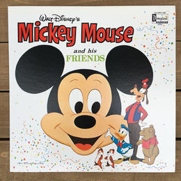 Disney Mickey Mouse and his Friends Record/ディズニー ミッキー・マウス アンド ヒズ フレンズ レコード/170515-4
