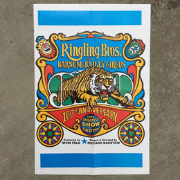 Ringling Bros. and Barnum & Bailey Circus Poster/バーナムのサーカス ポスター/180720-12