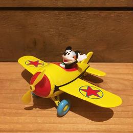 Disney Mickey Mouse Diecast Airplane/ディズニー ミッキー・マウス ダイキャスト飛行機/180117-1