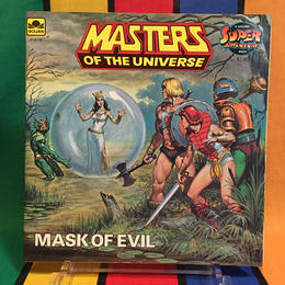 MOTU Storybook Mask Of Evil/マスターズオブザユニバース 絵本 マスクオブイヴィル/160314-1