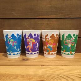 THE MUPPETS The Muppets Take Manhattan Plastic Cup Set/マペッツ マペットめざせブロードウェイ! プラスチックカップ全種セット/181001-21