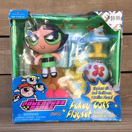 POWERPUFF GIRLS Buttercup Figure Playset/パワーパフガールズ バターカップ フィギュアプレイセット/170203-11
