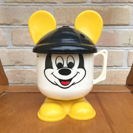 Disney Mickey Mouse Plastic Cup/ディズニー ミッキーマウス プラスチックカップ/170724-2