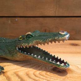 Crocodile Rubber Toy/ワニ ラバートイ/180123-4