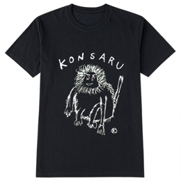 KONSARU Tシャツ BLACK,NAVY,GREEN,BLUE