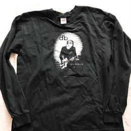 デビッドボウイ 黒 ロングTシャツ