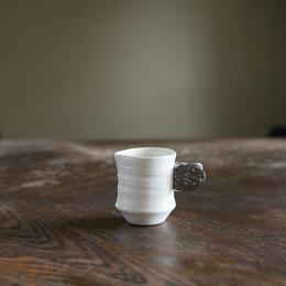 ミニカップ・銀羽付き円柱