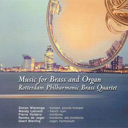 """★item038 ロッテルダム・フィルハーモニック・ブラス・カルテット CD """"金管とオルガンのための音楽"""" (2001)"""