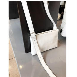 Nanamegake-Bag(mini/white)*white fair 3/14まで10%OFF