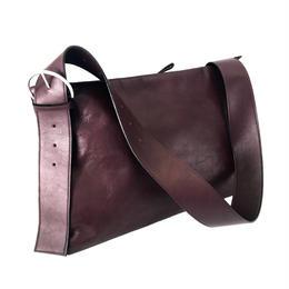 New colors ! Nanamegake-Bag(S)[purple : LAST 1点で生産終了となります]