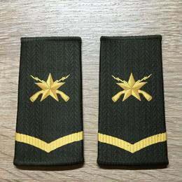 【コレクター商品】中国人民解放軍99式 陸軍 筒式肩章 一級士官