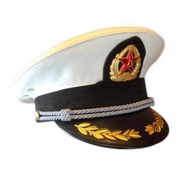 中国人民解放軍 07式 制帽 海軍軍官(帽章付き)