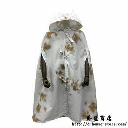 【実物保証】中国人民解放軍 03式雪地偽装マント