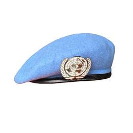 中国人民解放軍 国連派遣部隊 PKO  ベレー帽