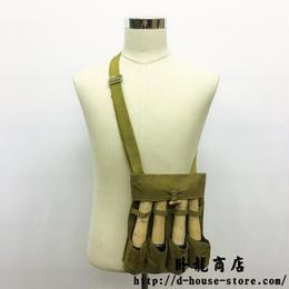 中国人民解放軍67式手榴弾用四連ポーチ