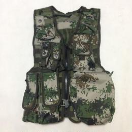 中国人民解放軍 13式戦術背心 ベストセット(林地迷彩)