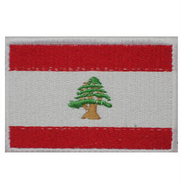 レバノン 国旗ワッペン
