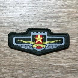 中国人民解放軍 陸軍 07式 迷彩服&夏制服シャツ用布製胸章