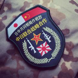 【予約】日中共同戦略作戦群 部隊章 ベルクロワッペン