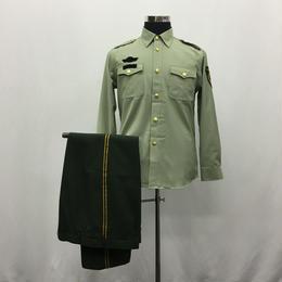 【07式武警軍官夏長袖】中国人民武装警察 制服上下セット