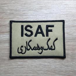 ISAF. 国際治安支援部隊 ワッペン