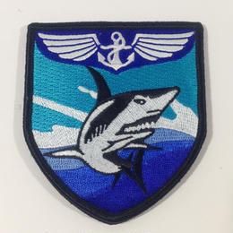 中国人民解放軍遼寧号空母 飛鮫刺繍ワッペン