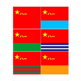 【96x144cm】中国軍旗 人民解放軍 陸軍 海軍 空軍 火箭軍 武装警察 6種類あり