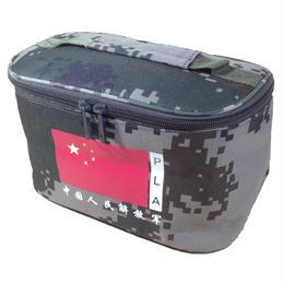 中国人民解放軍07式陸軍夏迷彩 小物入れバック