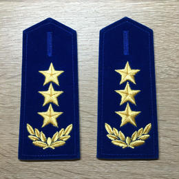 【コレクター商品】中国人民解放軍87式 空軍肩章  上将