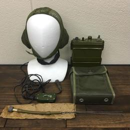 【コレクター商品】中国人民解放軍 八六二型 無線機セット(バッテリーなし)