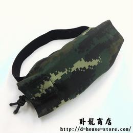 中国人民武装警察 武警 13式特戦迷彩 ナイロン製ゴーグルカバー