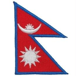 ネパール 国旗ワッペン