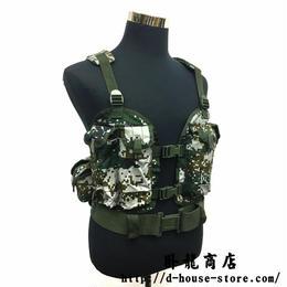 【林地迷彩】中国人民解放軍 95式5.8mm自動歩銃用単兵携行装具