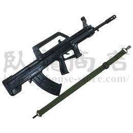 【送料無料】中国人民解放軍 訓練用ゴム製ダミーQBZー95式自動歩銃