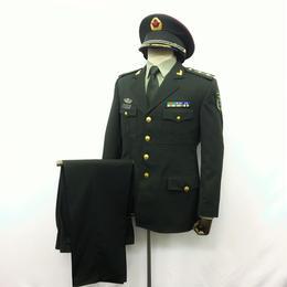 中国人民解放軍 07式&15式陸軍 軍官春秋制服 一式セット