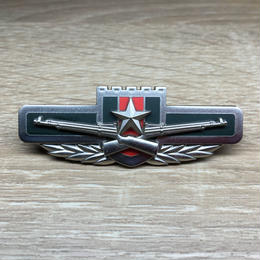 中国人民解放軍07式制服用金属胸章 陸軍